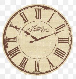 Roman Simple Digital Clock - Mantel Clock Table Antique Vintage Clothing PNG