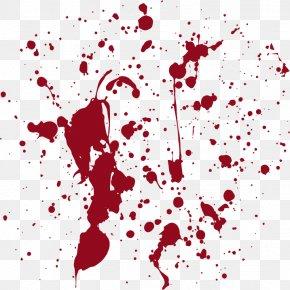 Blood Splatter Vector Material - Blood Euclidean Vector Clip Art PNG