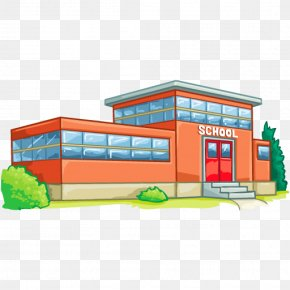 Picture Of School Building - High School School District National Secondary School Clip Art PNG