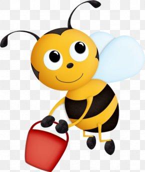 Bee - Honey Bee Clip Art PNG