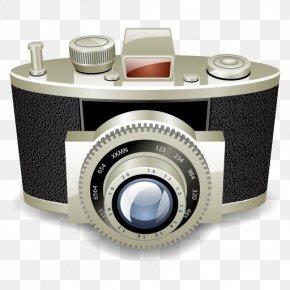 Camera - Mirrorless Interchangeable-lens Camera Digital Camera Icon PNG