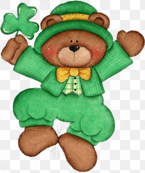 Cute Saint Patricks Day - Saint Patrick's Day Clip Art Image Free Content Illustration PNG