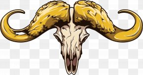 Vector Painted Claw - Skull Euclidean Vector Sticker Horn PNG