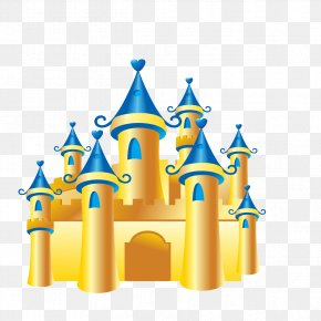 Golden Castle - Castle Gratis Download PNG