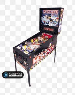 Pro Pinball - Monopoly The Pinball Arcade Arcade Game Stern Electronics, Inc. PNG