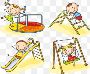 61 Cute Kids Playing - Child Playground Stock Photography PNG