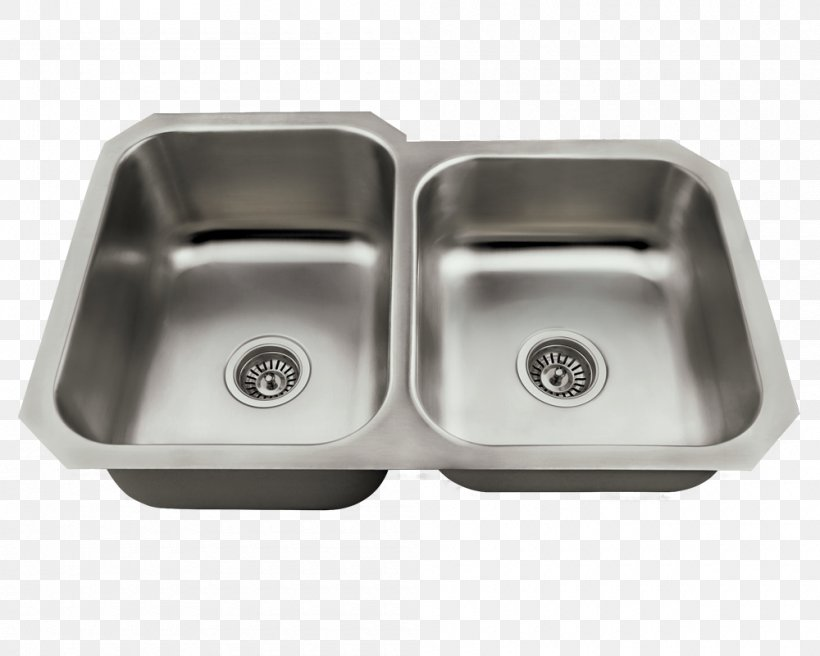 Kitchen Sink Kitchen Sink Stainless Steel Tap, PNG, 1000x800px, Sink, Bathroom, Bathroom Sink, Bowl, Brushed Metal Download Free