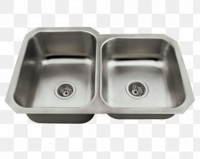 Sink - Kitchen Sink Kitchen Sink Stainless Steel Tap PNG