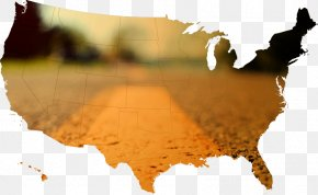 Asphalt Pavement - United States Map US Presidential Election 2016 PNG