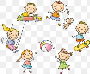 61 Cute Kids Playing - Child Play Cartoon Stock Photography PNG