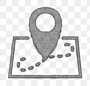 Metal Auto Part - Map Location Icon Gps Icon Essential Compilation Icon PNG