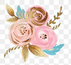 Hand-painted Flowers - Wedding Invitation Flower Delivery Floristry Pink PNG