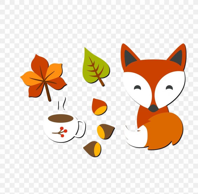 Cartoon Autumn, PNG, 2068x2034px, Cartoon, Animation, Art, Autumn, Carnivoran Download Free