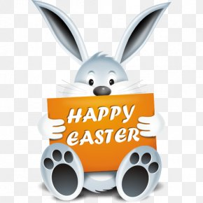 Cute Bunny Pictures - Easter Bunny Rabbit Easter Egg Icon PNG