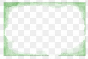 Ink Exquisite Aesthetic Rectangular Text Box Border - Green Angle Square, Inc. Pattern PNG