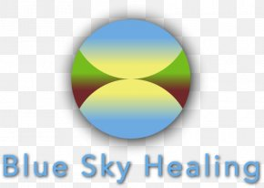 Blue Sky Therapy - Blue Sky Healing Logo Risk Of Infection Wound Drawing PNG