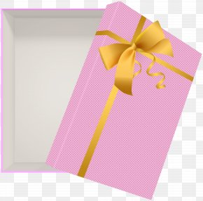 Open Gift Box Pink Clip Art Image - Gift Paper Clip Art PNG