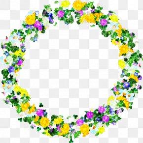 Little Flower - Wreath Flower Drawing PNG