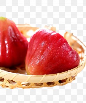 Wax Apple Basket Picture Material - Ice Cream Java Apple Fruit Auglis PNG