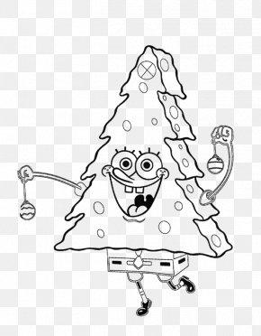 Christmas Tree - SpongeBob SquarePants Colouring Pages Coloring Book Christmas Coloring Pages Christmas Tree PNG
