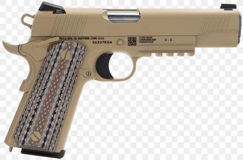 M1911 Pistol Colt's Manufacturing Company .45 ACP Automatic Colt Pistol Semi-automatic Pistol, PNG, 1800x1187px, 38 Super, 45 Acp, M1911 Pistol, Air Gun, Airsoft Download Free