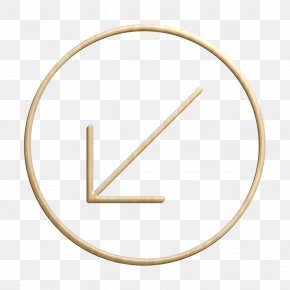 Thin Icon Small Icon - Arrow Icon Circle Icon Direction Icon PNG