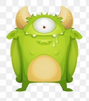 Monster - Monster Green Euclidean Vector PNG
