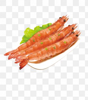 A Shrimp - Seafood Barbecue Sashimi Crab PNG