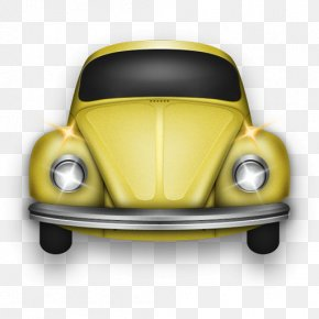 Beetle Canary - Classic Car Volkswagen Beetle Automotive Exterior Compact Car PNG