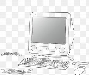 Vintage Vector Computer - Computer Euclidean Vector Computer File PNG