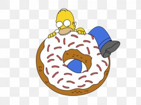 Bart Simpson - Donuts Homer Simpson Bart Simpson Frosting & Icing Ciambella PNG
