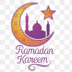 Vector Moon Stars - Ramadan Moon Islam PNG