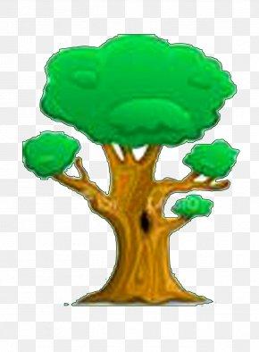 Tree - Tree Cartoon Drawing PNG