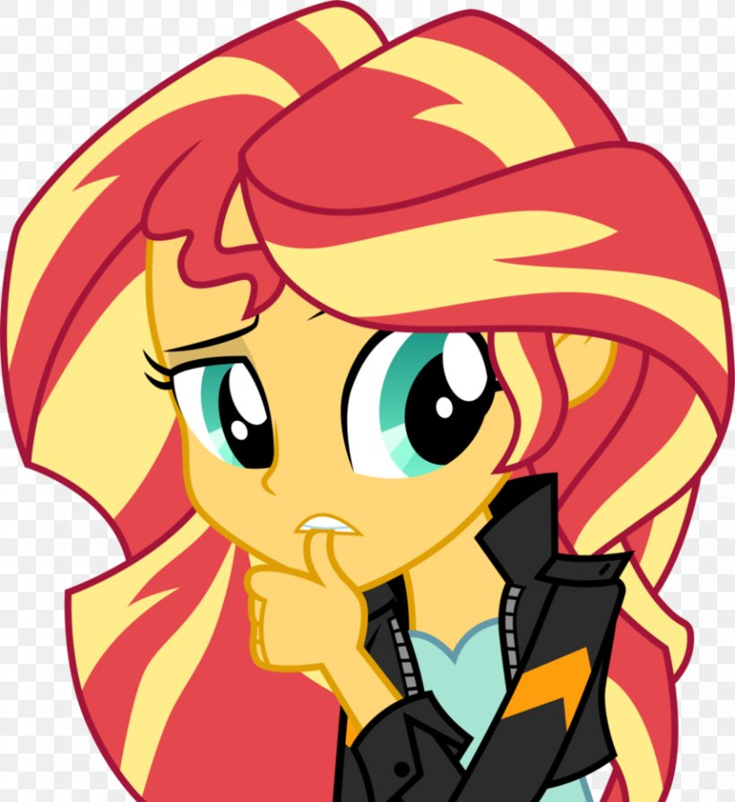 Meeting Human Fluttershy and Human Sunset Shimmer - YouTube
