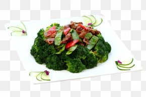 Fried Beef With Broccoli - Broccoli Fried Rice Vegetarian Cuisine Stir Frying Beef PNG
