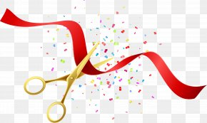 Beautifully Opened Scissors Poster Vector - Opening Ceremony Royalty-free Illustration PNG