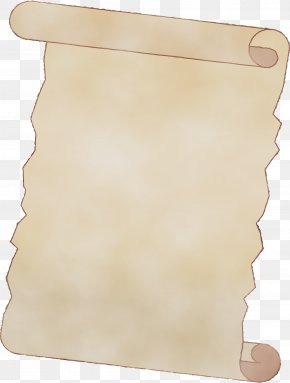 Paper Product Paper - Scroll Beige Paper Paper Product PNG