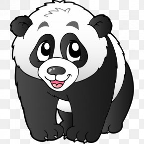 Giant Panda - Giant Panda Bear Red Panda Clip Art PNG