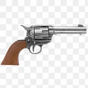 Handgun - Revolver Colt Single Action Army Pistol Firearm Cowboy Action Shooting PNG