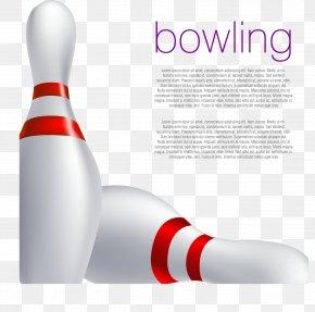 Decorative Vector Bowling - Bowling Pin Ten-pin Bowling Bowling Ball PNG