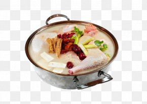 Braised Chicken Soup With Iron Pot - Chicken Soup Ragout KFC Fried Chicken PNG