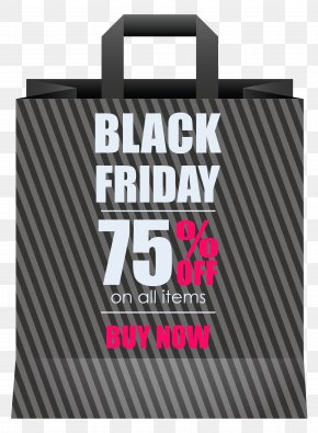 Black Friday 75% OFF Grey Shoping Bag Clipart Image - Clip Art PNG
