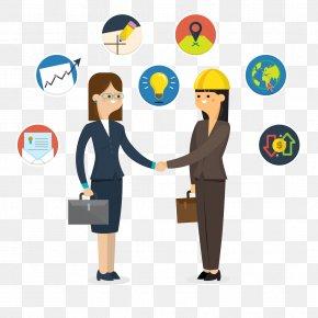 Agreement Businessman Image Download - Handshaking Handshake Download Icon PNG