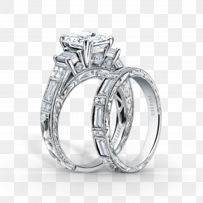 Engagement Ring - Engagement Ring Jewellery Wedding Ring Diamond PNG