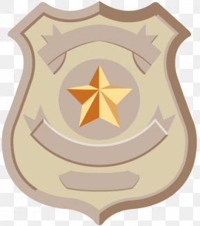 Police - Police Officer Badge Clip Art PNG