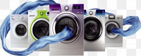 High-definition Dry Cleaning Machine - Washing Machine Midea Home Appliance Advertising Haier PNG