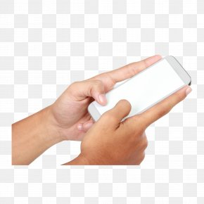 Hand Holding A Cell Phone - Google Images Gesture Hand PNG