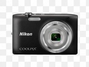 SilverCamera - Nikon Coolpix S2800 20.1 MP Point & Shoot Digital Camera With 5X Point-and-shoot Camera Nikon COOLPIX A100 Zoom Lens Nikon Coolpix S2800 20.1MP Digital Camera PNG