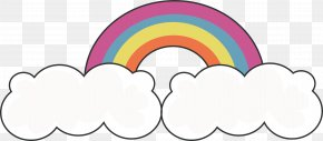Cloud Rainbow Bridge - Rainbow Euclidean Vector Computer File PNG