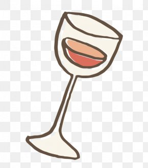Cartoon Wine Glass - Wine Glass Cartoon Stemware Wine Glass PNG